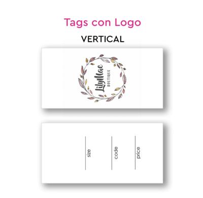 Tags con logo
