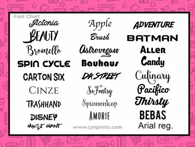 Sticker Letras
