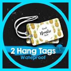 Hang Tags waterproof (a prueba de agua)