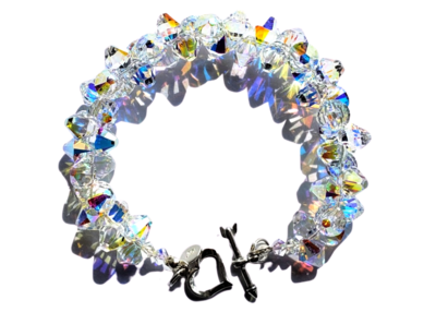 Crystal Cluster Bracelet (Large)