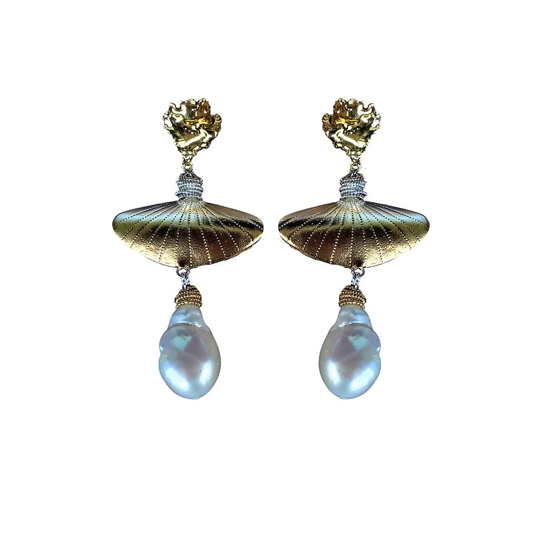 Marie Pearl Statement Earrings