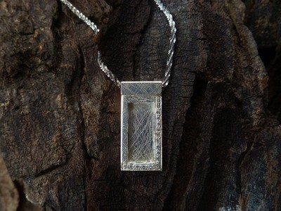 Small Window Pendant-Necklace