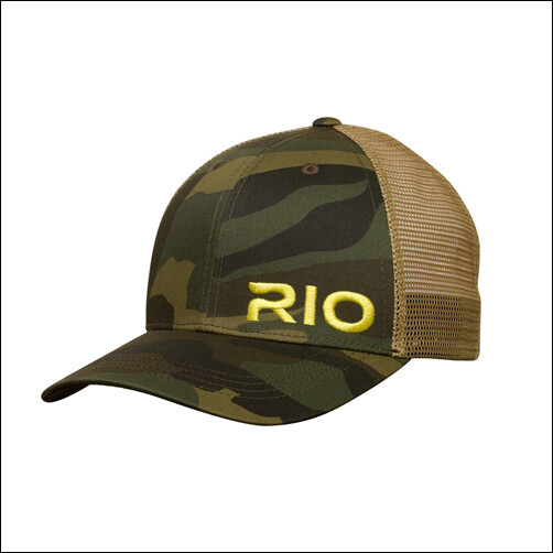 RIO - Embroidered Logo Mesh Back Camo