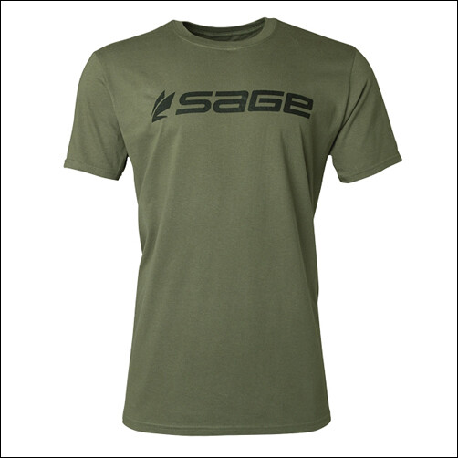 SAGE Logo Tee Dark Green