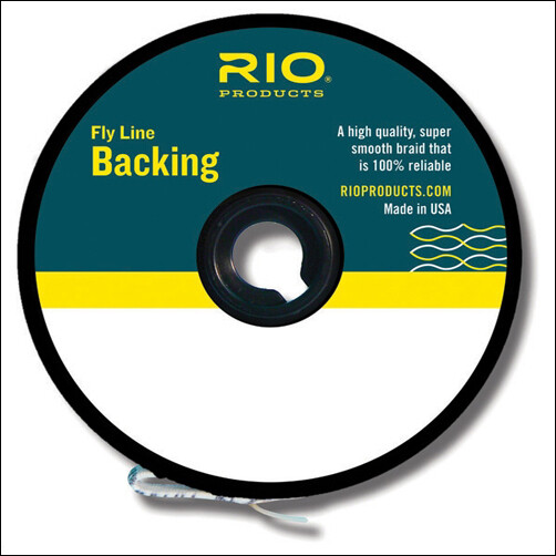 RIO Fly Line Backing - Multi Color Gel Spun