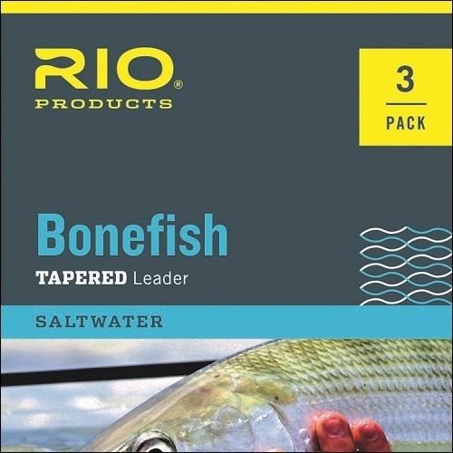 RIO Bonefish Leader - 3 pack