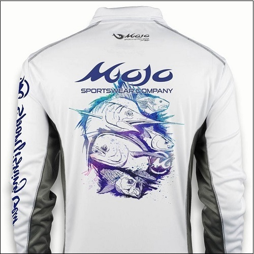 MOJO Ultimate Guide Quarter Zip - White