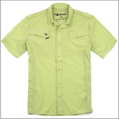 MOJO Mr Cool Short Sleeve Ultimate Technical Fishing Shirt - Range of Colours