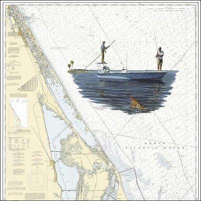 Steve Whitlock 'Mosquito Lagoon Redfish Chart'