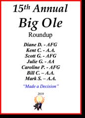 Big Ole Roundup - 2019