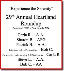 29th Heartland Roundup - 2019