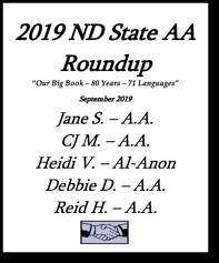 North Dakota State AA Roundup - 2019