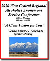 2020 West Central Regional AA Service Conference