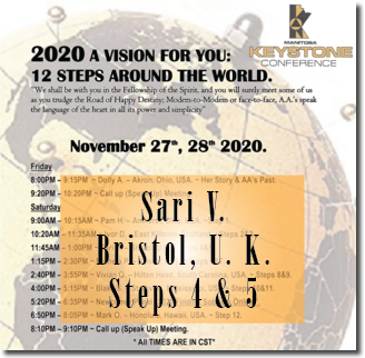 Sari V. - Bristol, U. K. - Keystone Roundup - Steps 4 & 5