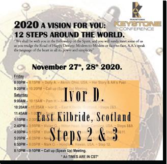 Ivor D. - @ Keystone Roundup - Steps 2 & 3