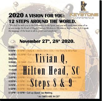 Vivian Q. - Hilton Head, SC - Keystone Roundup -Steps 8 & 9