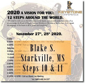 Blake S. - Starkville, MS - Keystone Roundup - Steps 10 & 11