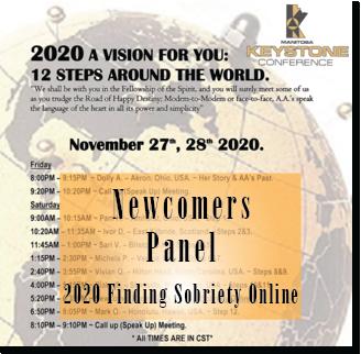 Newcomers Panel - Keystone Roundup 2020