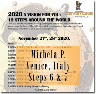 Michela P. - Venice, Italy. - Keystone Roundup -Steps 6 & 7