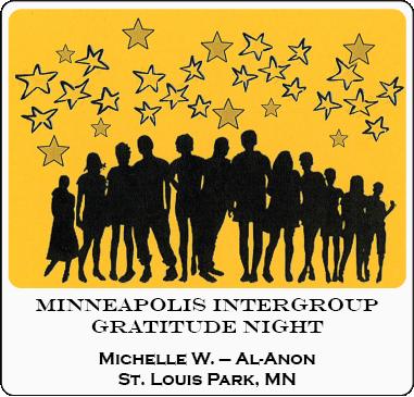 Michelle W. - 38th Minneapolis Intergroup Gratitude Night