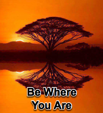 Be Where You Are - 2/15/12