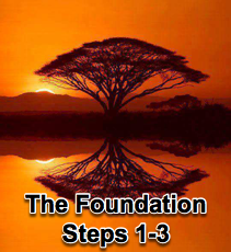 The Foundation Steps 1-3  -  3/17/10