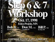 Step Six & Seven Workshop