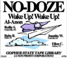 Al-Anon No-Doze Wake Up Set