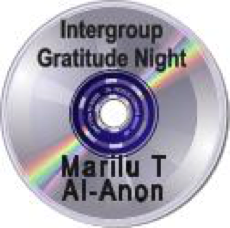 Minneapolis Intergroup Gratitude Nite - Marilu T.