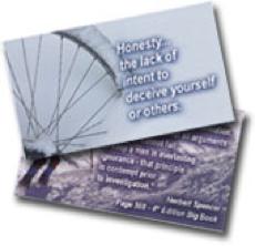 Honesty Wallet Card