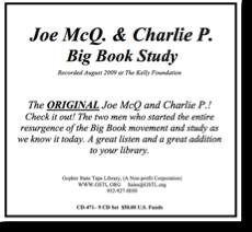 Joe McQ & Charlie P Big Book Study