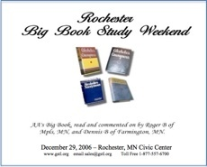 Rochester Big Book Study - 2005