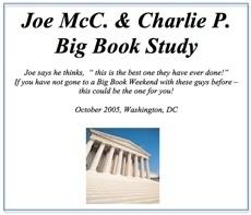 Joe & Charlie Big Book Study - 2005