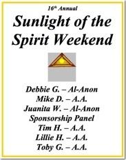 Sunlight of the Spirit - 2010