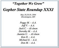 Gopher State Roundup XXXI - 2004