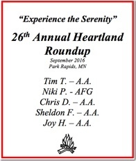 26th Heartland Roundup - 2016