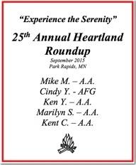 25th Heartland Roundup - 2015