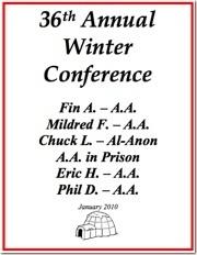 Winnipeg Winter Conference - 2010