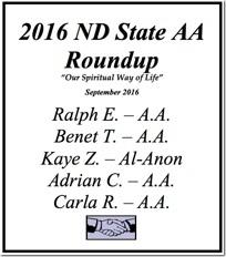 North Dakota State AA Roundup - 2016