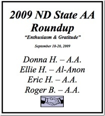 North Dakota State AA Roundup - 2009