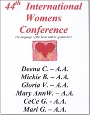 International Womens Conference - 2008
