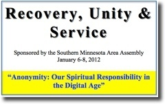 Recovery, Unity & Service Conference - 2012