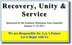 Recovery, Unity & Service Conference - 2011