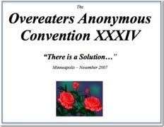 OA Minneapolis Convention - 2007