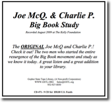 Joe McQ & Charlie P Big Book Study