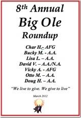 Big Ole Roundup - 2012