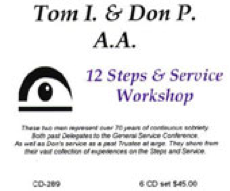 12 Steps and Service Workshop