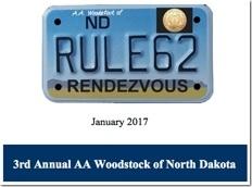 3rd Annual Rule 62 - AA Woodstock