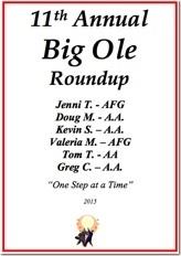 Big Ole Roundup - 2015