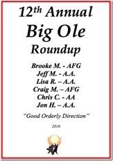Big Ole Roundup - 2016